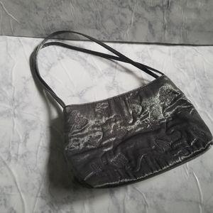 Vintage Steve Madden Butterfly Purse Bag Metallic